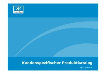 20090921 Kundenspezifischer Produktkatalog