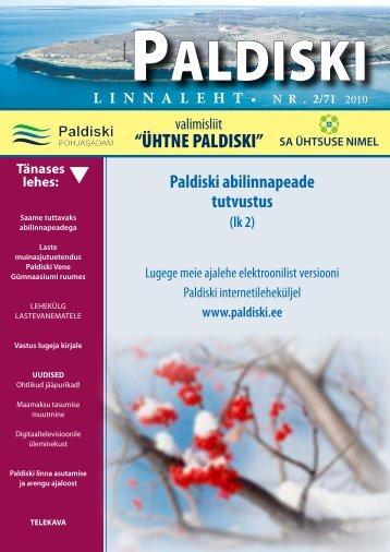 2/71 15.01.2010 - Paldiski