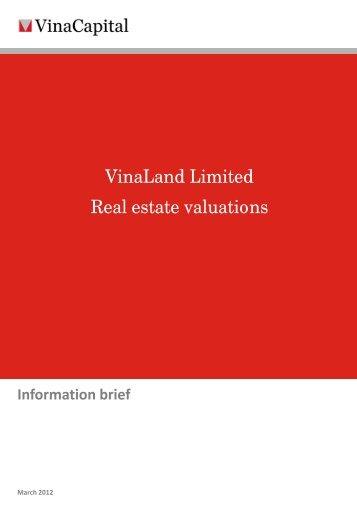 VinaLand Limited Real estate valuations - VinaCapital