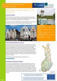 ECF EuroVelo13 North Section Newsletter 2011/2