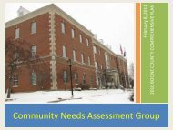 Community Needs Assessment Group - CFNKY