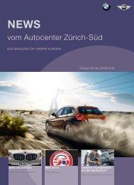 Kundenzeitung Herbst / Winter 2009 - Autocenter Zürich-Süd