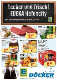 Coca-Cola*, Rumpsteak - EDEKA Böcker