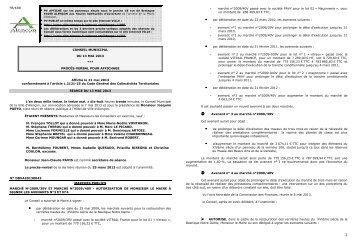 (PV affichage CM 13-05-13 affiché le 21 mai 2013) - Alençon