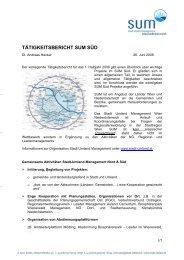 Zum Bericht - Stadt-Umland Management