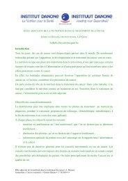 Isabelle.Heyens@uzgent.be Introduction Tous les ... - Danone Institute