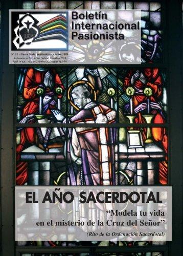 EL AÑO SACERDOTAL - Passio Christi