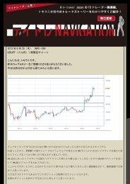 2013 年 6 月 20(木) NAVI-059 USDJPY(ドル円)1 時間足チャート ...