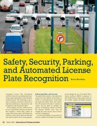 Safety, Security, Parking, and Automated License Plate Recognition ...