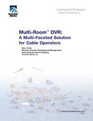 White Paper - Multi-Room DVR - Scientific Atlanta