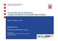 Kommunale NGA-Vorhaben - Breitband in Hessen