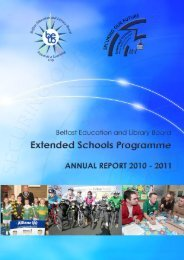Extended Schools Programme - Belfast Education & Library Board