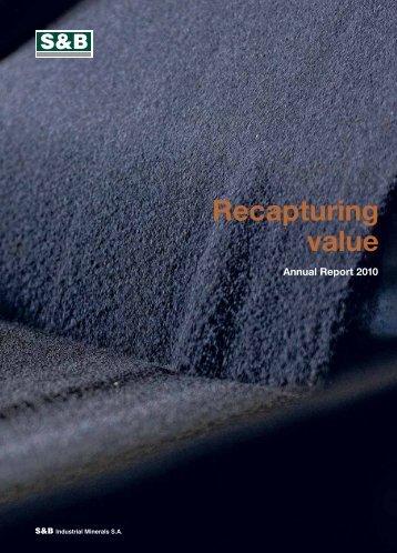 2010 Annual Report - S&B