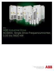 ABB Industrial Drive ACS800, Single Drive-Frequenzumrichter, 55 ...