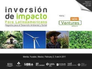 Latin American Impact Investing Forum - Inversión de Impacto