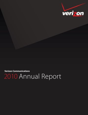 2010 Annual Report - Verizon