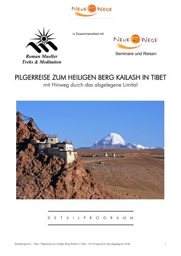 Download Detailprogramm - Kailash Reisen