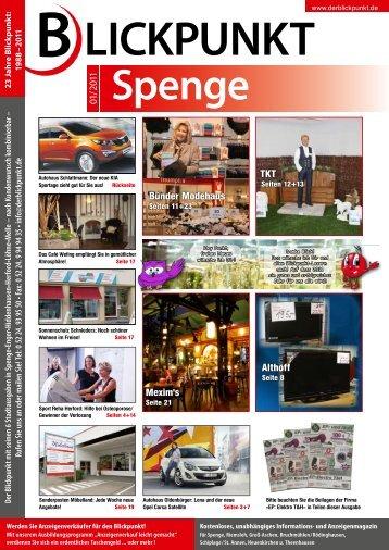 2011 Spenge - Blickpunkt Online