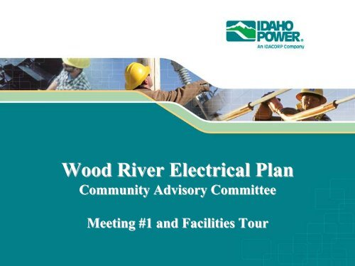 Wood River Electrical Plan - Idaho Power