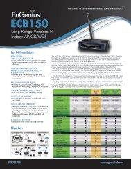 ECB150 Datasheet.pdf - EnGenius Technologies