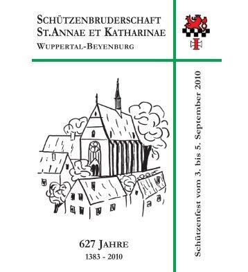 Festschrift 2010 - Schützenbruderschaft St. Annae et Katharinae ...