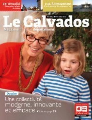 Calvados, le maganzine n°110 - Conseil général du Calvados