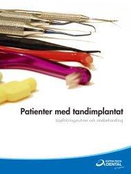 Patienter med tandimplantat - Astra Tech