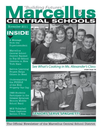 CENTRAL SCHOOLS INSIDE - Marcellus Central School District