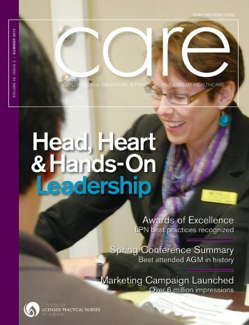 Head, Heart & Hands-On Leadership - College of Licensed Practical ...
