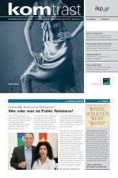 Wer oder was ist Public Relations?