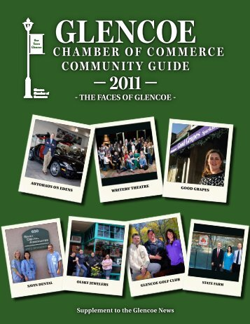 2011 Glencoe Community Guide - Pioneer Press Communities Online