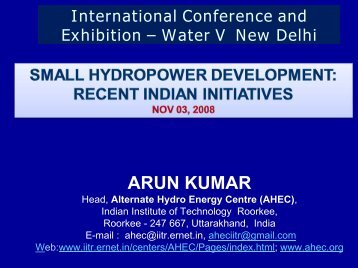 ARUN KUMAR - KW Conferences