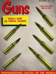 GUNS Magazine September 1956