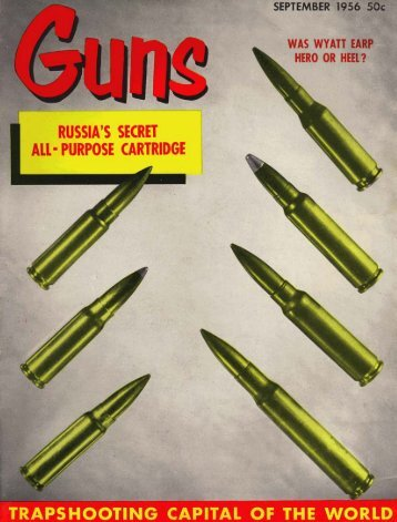 GUNS Magazine September 1956