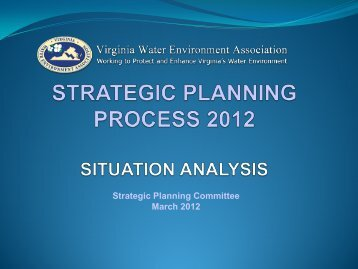 View the Situation Analysis Results - Virginia Water Environment ...
