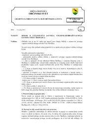 Odlok o ustanovitvi javnega vzgojno ... - Občina Škofljica