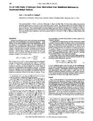 An ab Initio Study of Hydrogen Atom Abstractions from Substituted ...