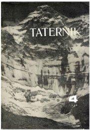 Taternik 4 1979 - Polski Związek Alpinizmu