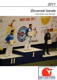 Glasilo Slovenski karate 2011.pub - Karate zveza Slovenije