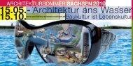 Flyer Architektursommer Sachsen 2010
