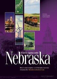 Inbound Logistics | Nebraska: A Can-do Logistics Leader