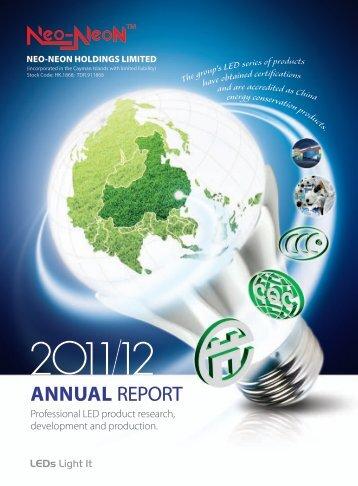 Annual Report 2012 - Neo-Neon