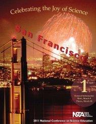 San Francisco Program, Vol. 1 - National Science Teachers ...