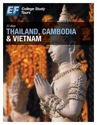 THAILAND, CAMBODIA & VIETNAM - EF College Study Tours