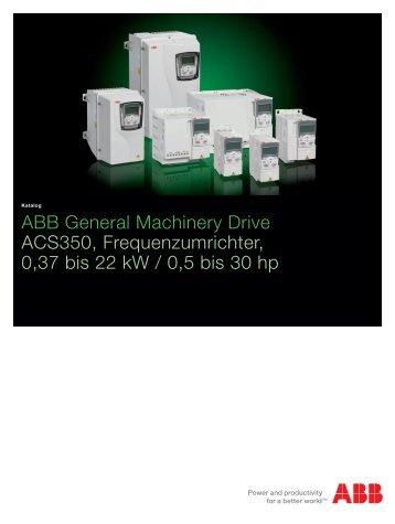 ACS350, catalog