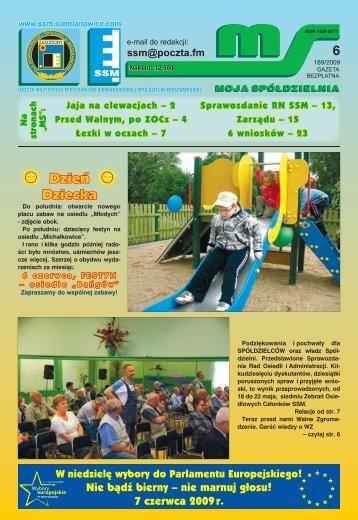 Cały rok na kilku stronach - Siemianowicka Spółdzielnia ...