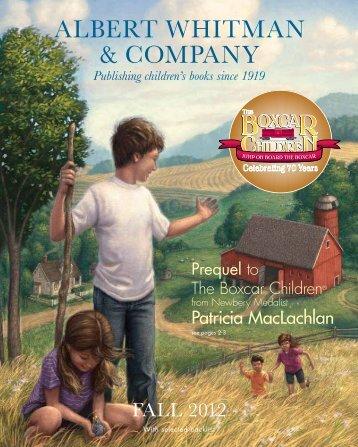 Albert Whitman Fall 2012 Catalog - Albert Whitman & Company