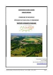commune de mouroux révision du plan local d ... - Le Renard