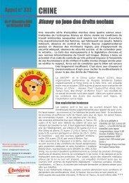 Appel Urgent au format PDF - Peuples solidaires