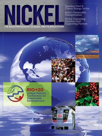 Stainless Steel & China's Energy Sector India 's ... - Nickel Institute
